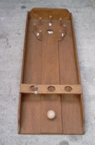 Bowlingbiljart is te huur bij Carpe Diem Events & Verhuur uit Limburg.