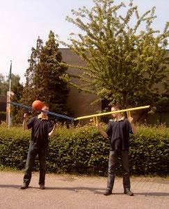 Doorgeefbal is te huur bij Carpe Diem Events & Verhuur uit Limburg.