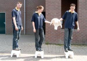 Voetje van de Grond is te huur bij Carpe Diem Events & Verhuur uit Limburg.
