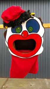 Clowns-Pieten-schieten , verhuur , huur , piet , carpe diem , spel , spellen , limburg