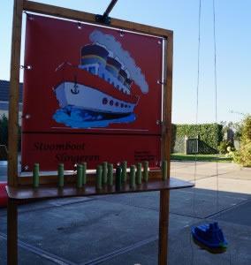 Stoomboot Slingeren , verhuur , limburg , spel , carpe diem , sinterklaas