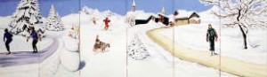 Winter Landschap is te huur bij Carpe Diem Events & Verhuur uit Limburg.