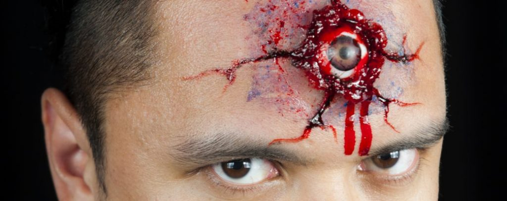 Workshop schminken en grimeren voor de Halloween kunt u boeken bij Carpe Diem Events en Verhuur uit Limburg