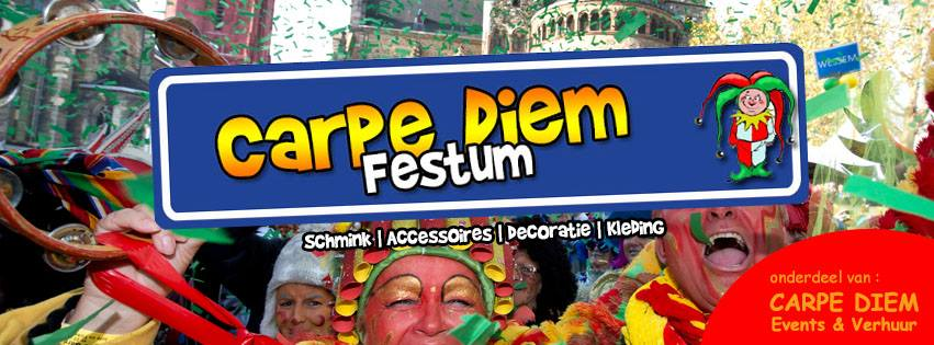 Schmink Workshop Carpe Diem Festum is een onderdeel van Carpe Diem Events & Verhuur