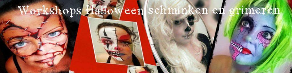 Schmink Workshop wonden maken voor Halloween doe je bij Carpe Diem Festum, onderdeel van Carpe Diem Verhuur in Limburg