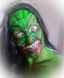 Schmink Cursus Halloween Griezels Maken is te reserveren bij Carpe Diem Festum. Onderdeel van Carpe Diem Events en Verhuur