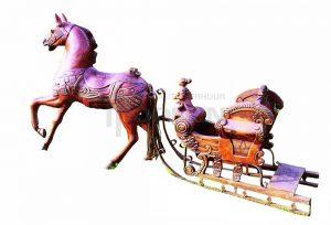 Arrenslee kleine incl paard is te huur bij Carpe Diem Events & Verhuur uit Limburg.