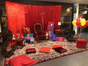 Sinterklaas Woonkamer is te huur bij Carpe Diem Events & Verhuur uit Limburg.